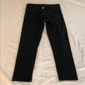 Lululemon yoga leggings pants black